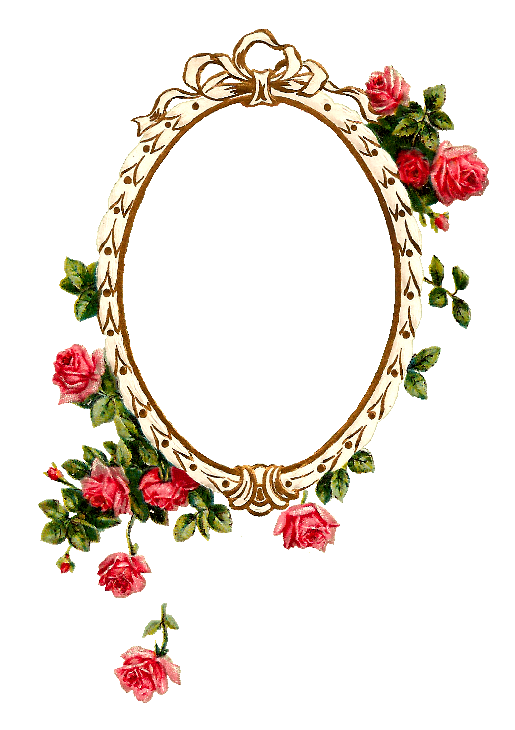 R clipart rose. Antique images free digital