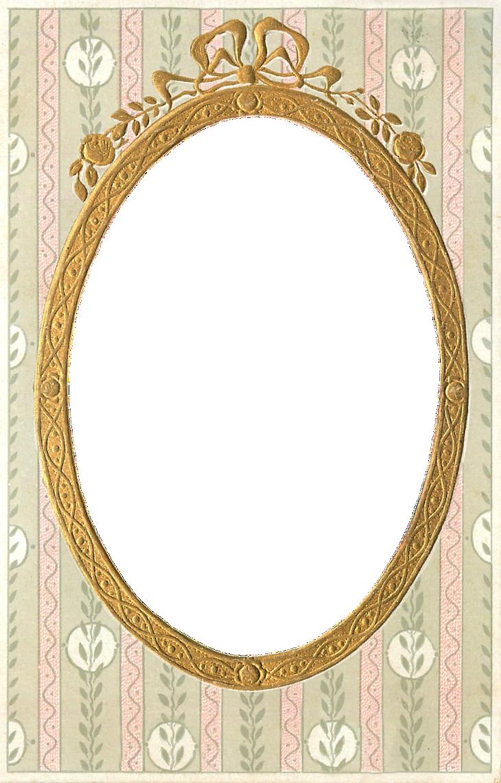 Oval frame png.  vintage gilt free
