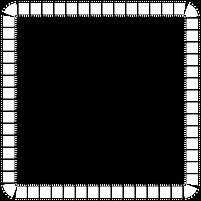 Film strip medium image. Frame clipart square