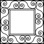Panda free images . Square clipart square frame