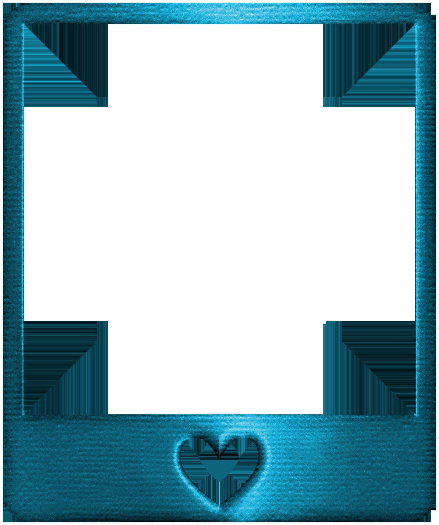 Metallic style transparent blue. Clipart gun frame