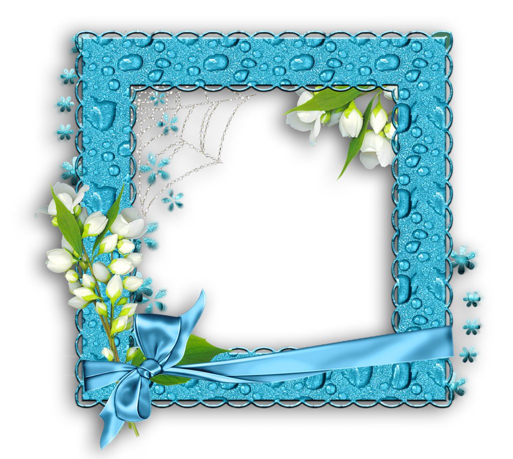 Png photo frame gallery. Water clipart blue
