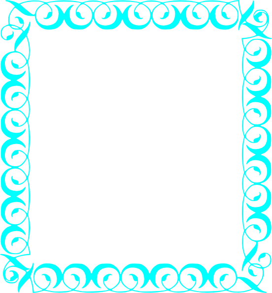 Clip art at clker. Number 1 clipart turquoise
