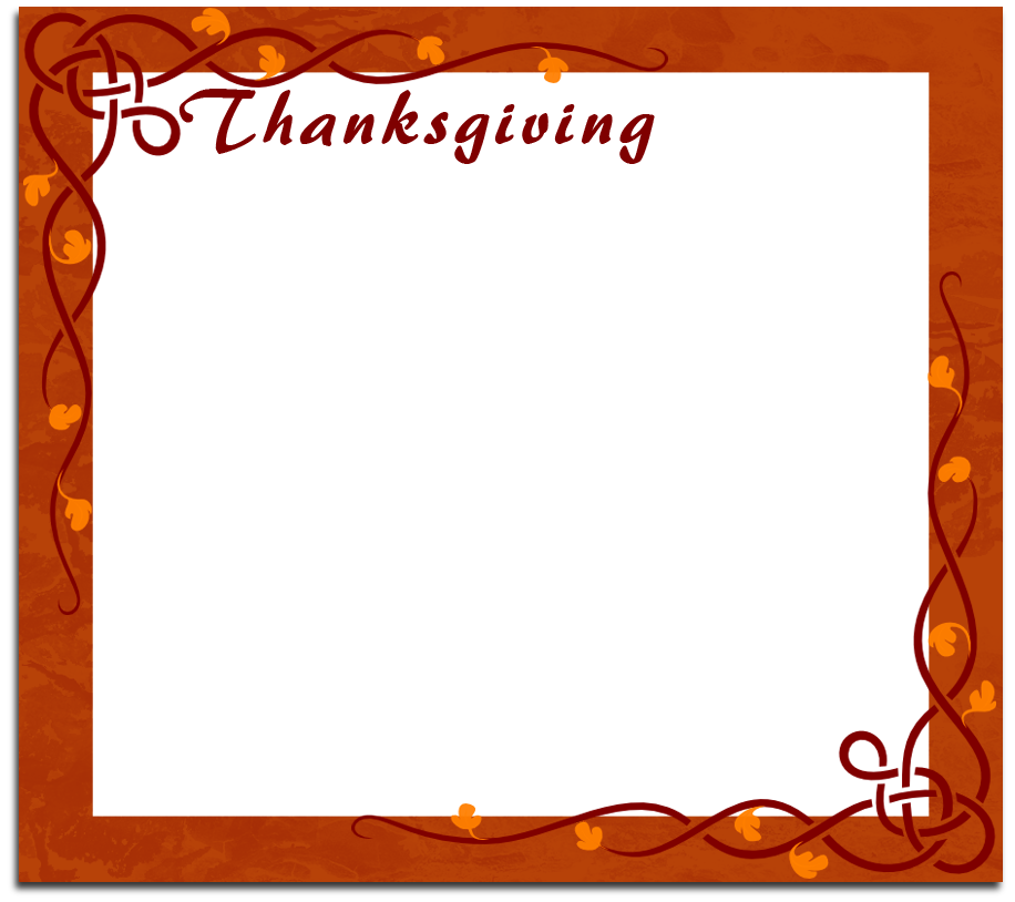 Nos apps templates category. Clipart frames thanksgiving