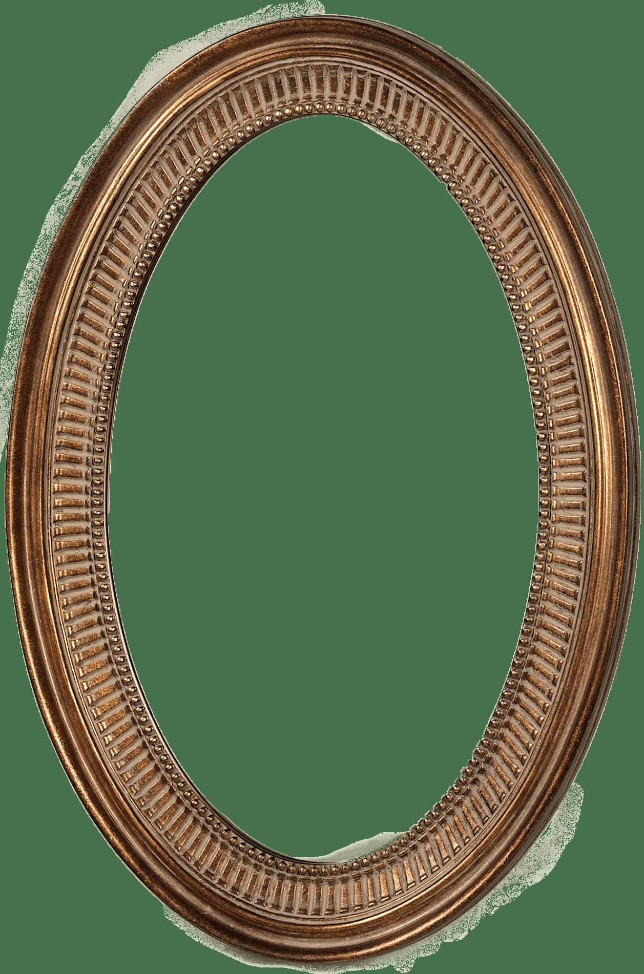 Oval frame png. Simple transparent stickpng