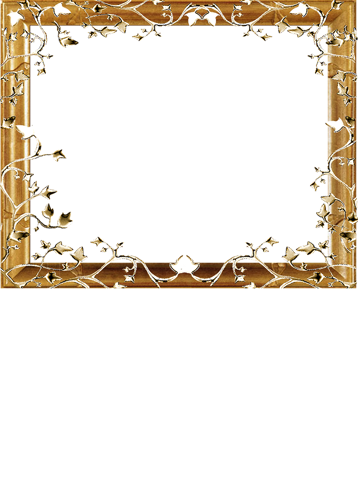 Png gold on a. Heaven clipart frame