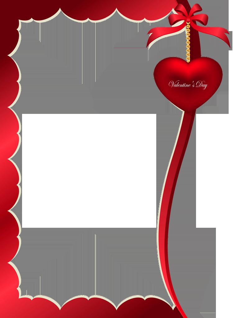 Valentine clipart borders. Valentines day decorative ornament