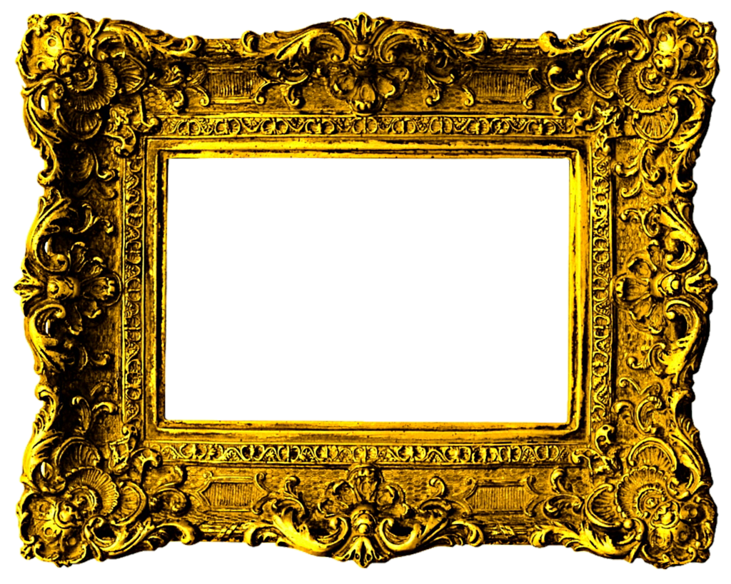 Beautiful gold by jeanicebartzen. Victorian frame png