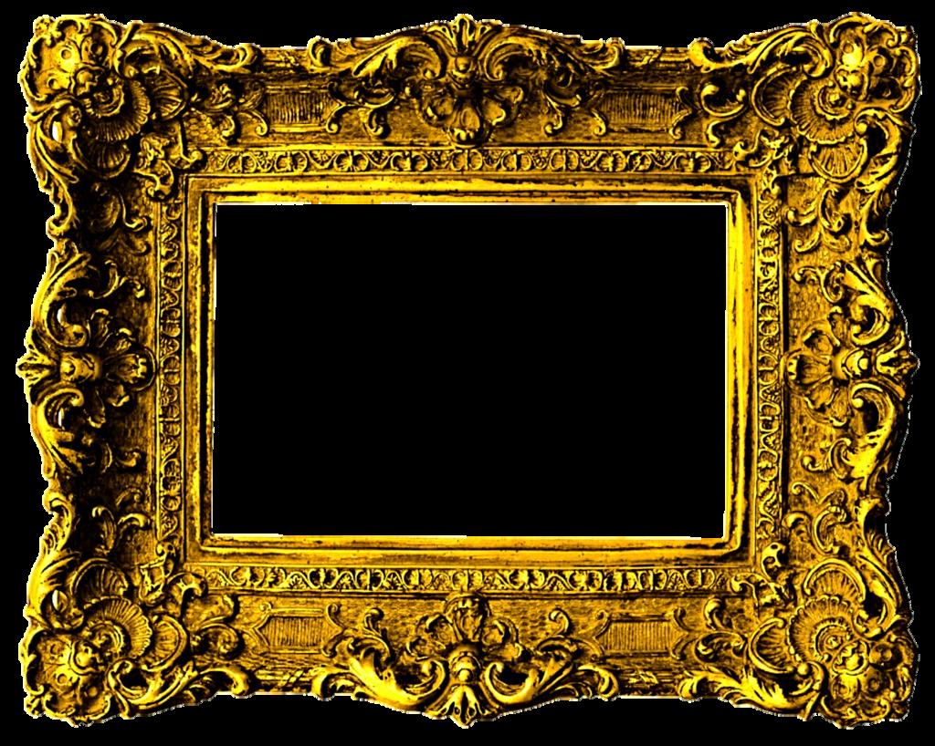 Beautiful gold by jeanicebartzen. Frame clipart victorian