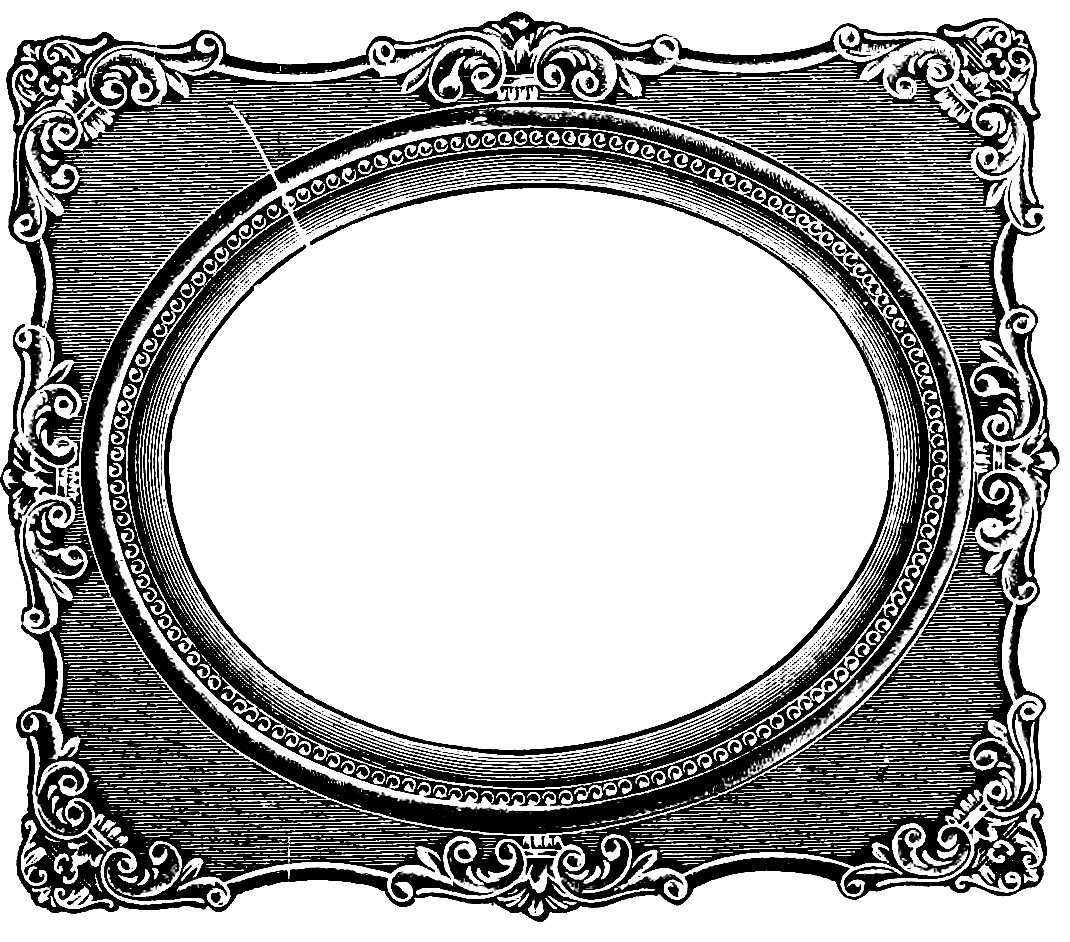 Frame clipart victorian.  awesome vintage picture