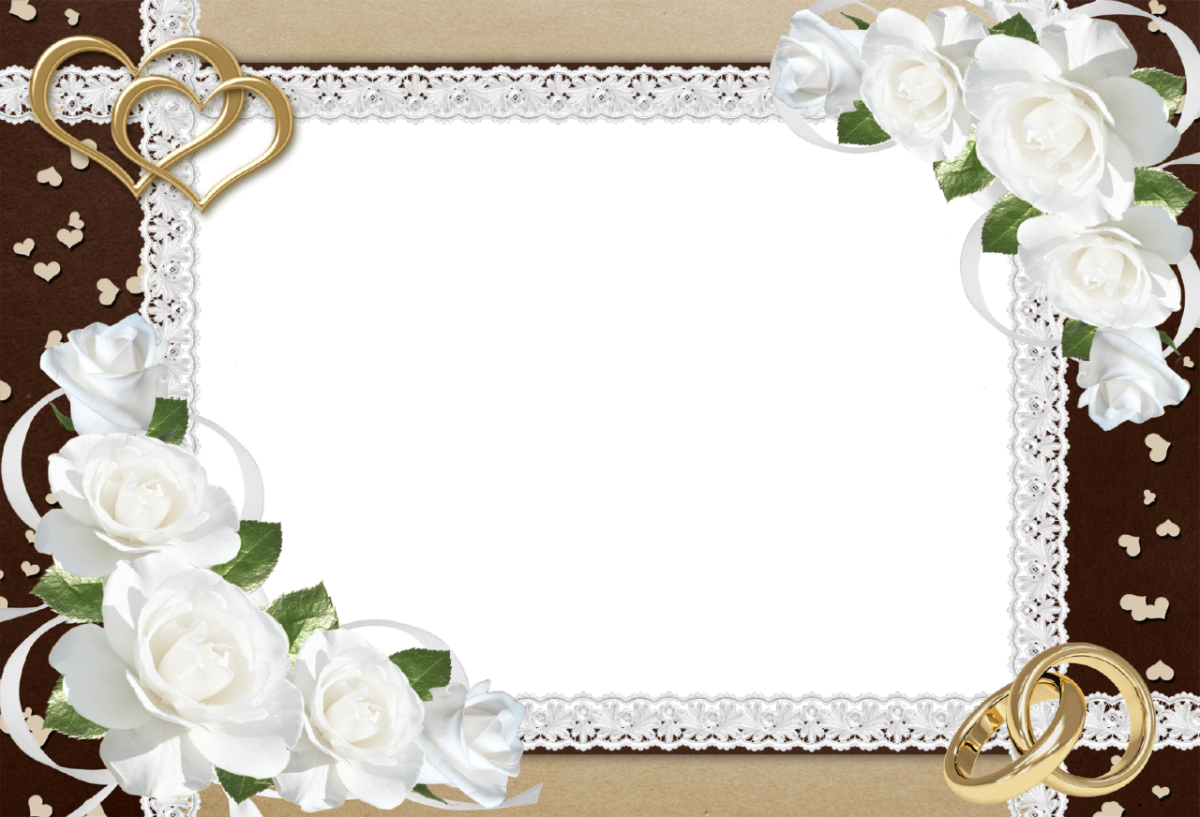 Png transparent images all. Clipart wedding frame