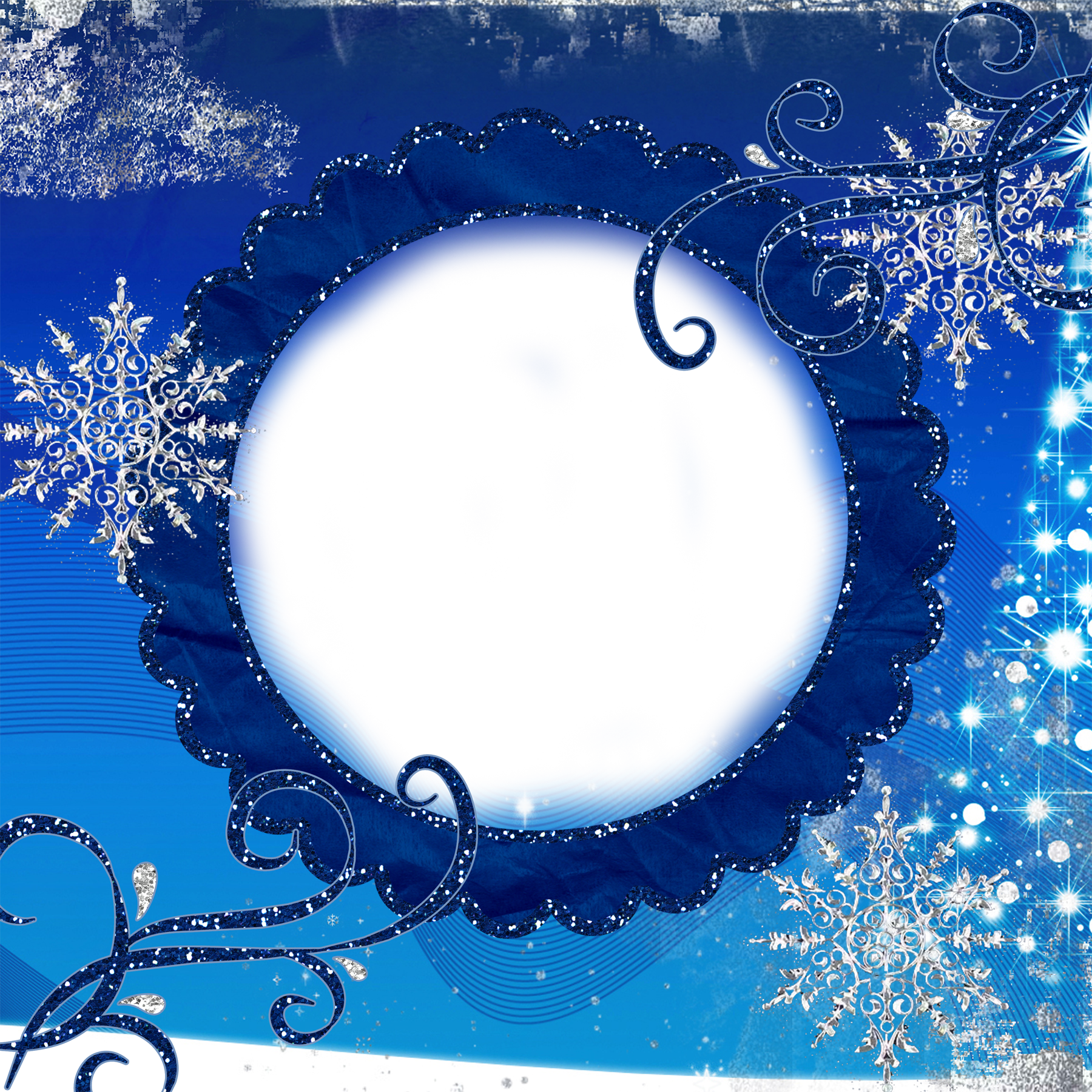 Snowflake frame png. Winter transparent gallery yopriceville