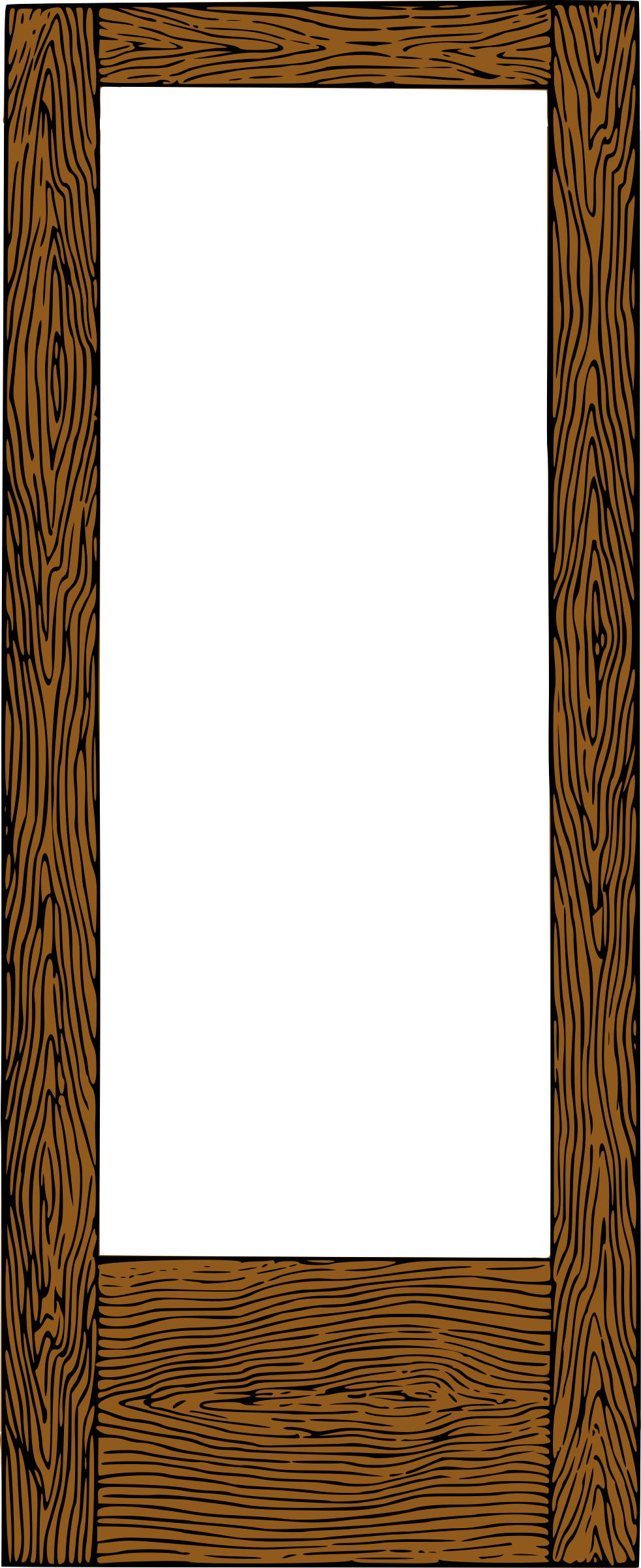 Clipart colour big image. Wooden frame png