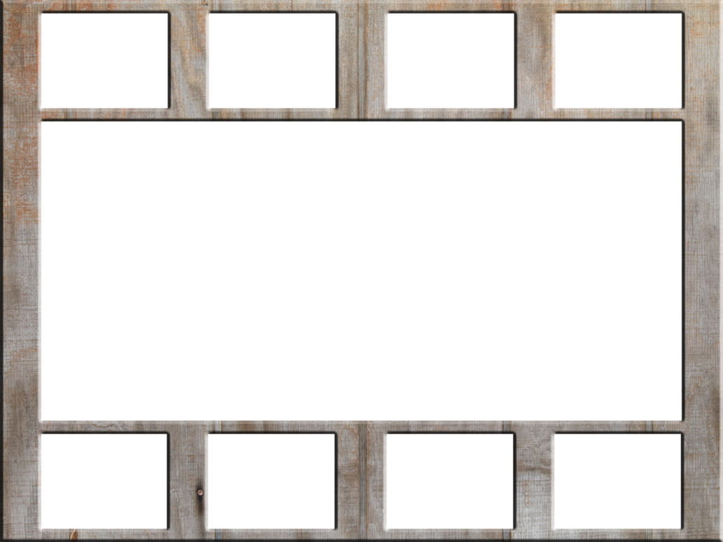 Wall collage frame by. Frames clipart wood