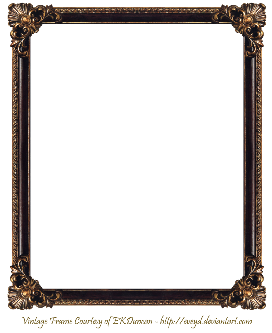 Frame elaborate by ekduncan. Wood border png