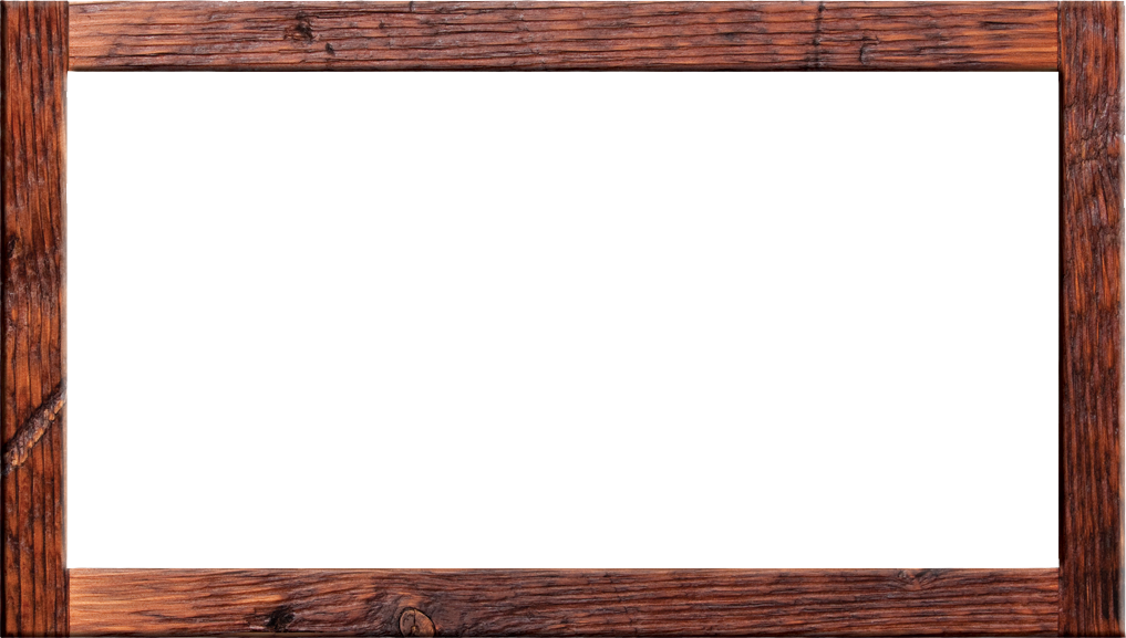 Frame designs wooden vector. Wood border png