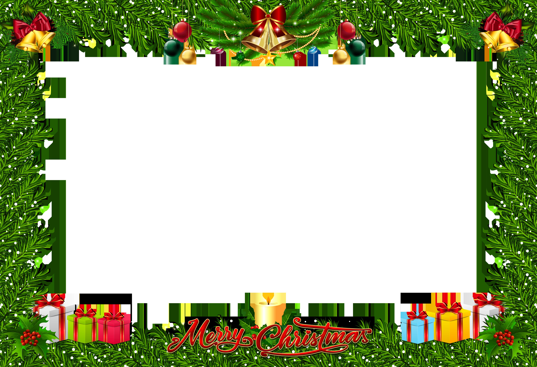 Free photo christmas pine. Frame clipart xmas