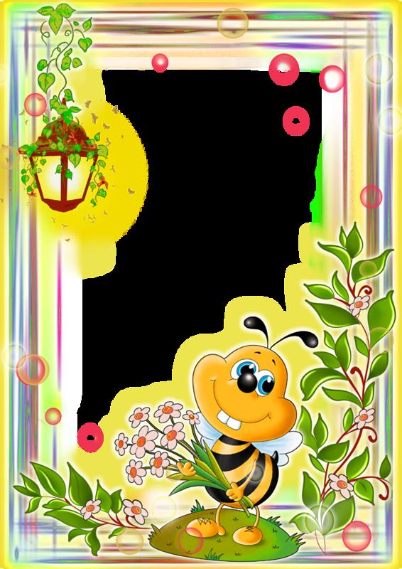 Pin by tsvetochnitsa anyuta. Clipart frames bee