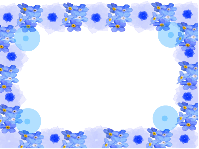 Frame by lovedemilovato on. Frames clipart blue flower