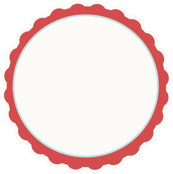 Frame clip art panda. Clipart frames circle