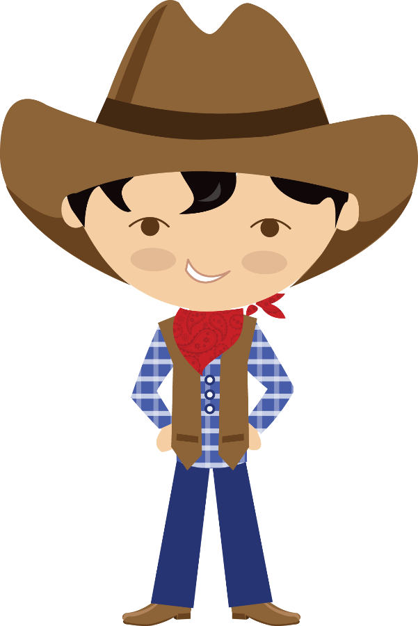 Cowboy clipart cowboy drawing. Pin by marina on