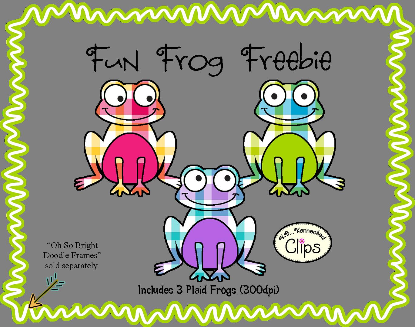 Frames clipart frog. Fun freebie http www