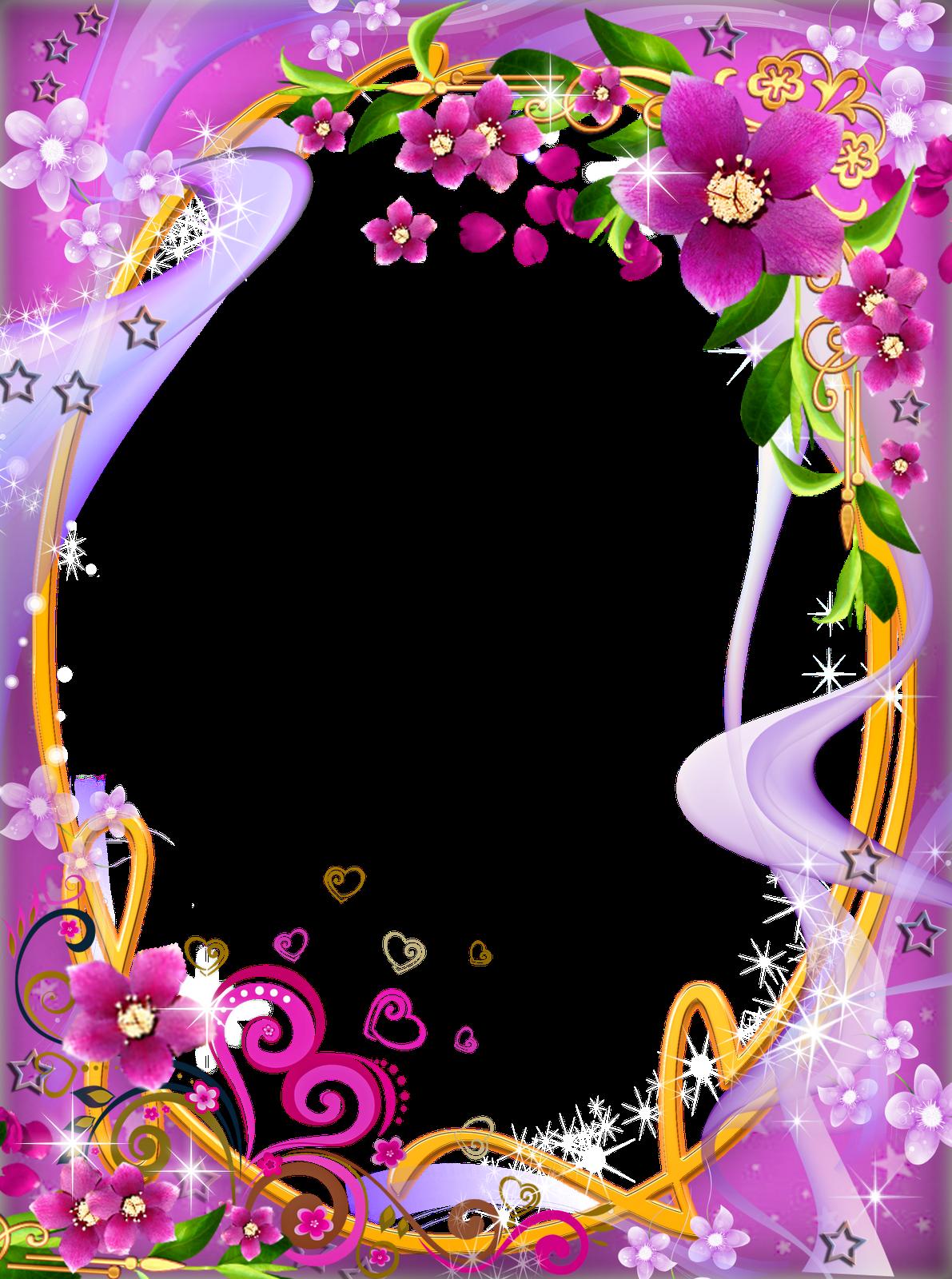 Photoshop png marcadores flores. Clipart park frame