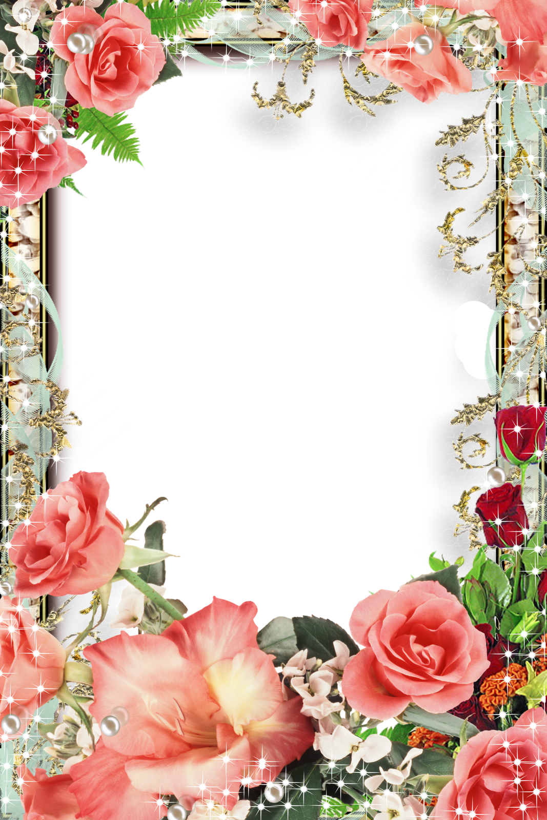 png pinterest flower. Clipart frames garden