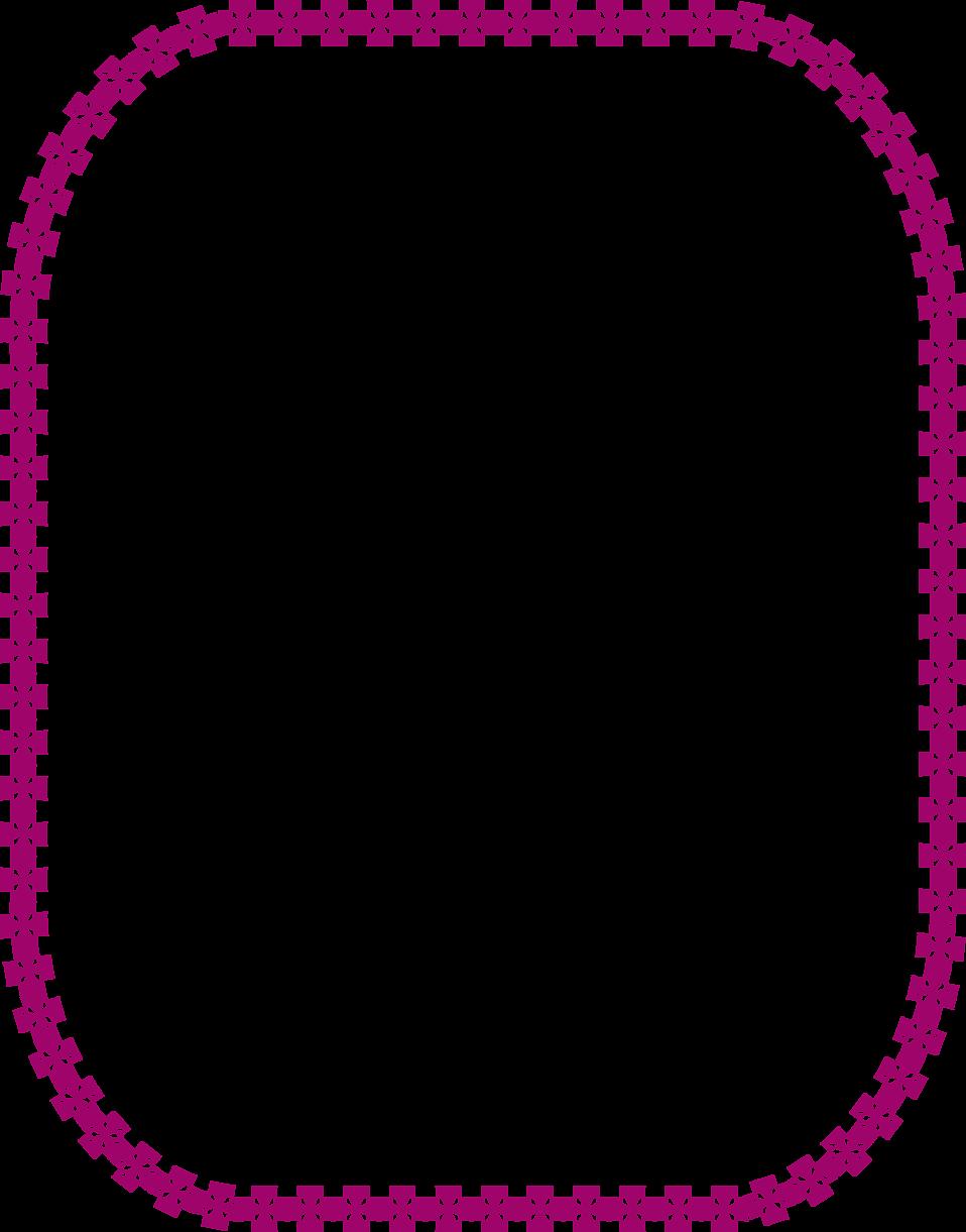 Border purple free stock. Clipart frames glitter