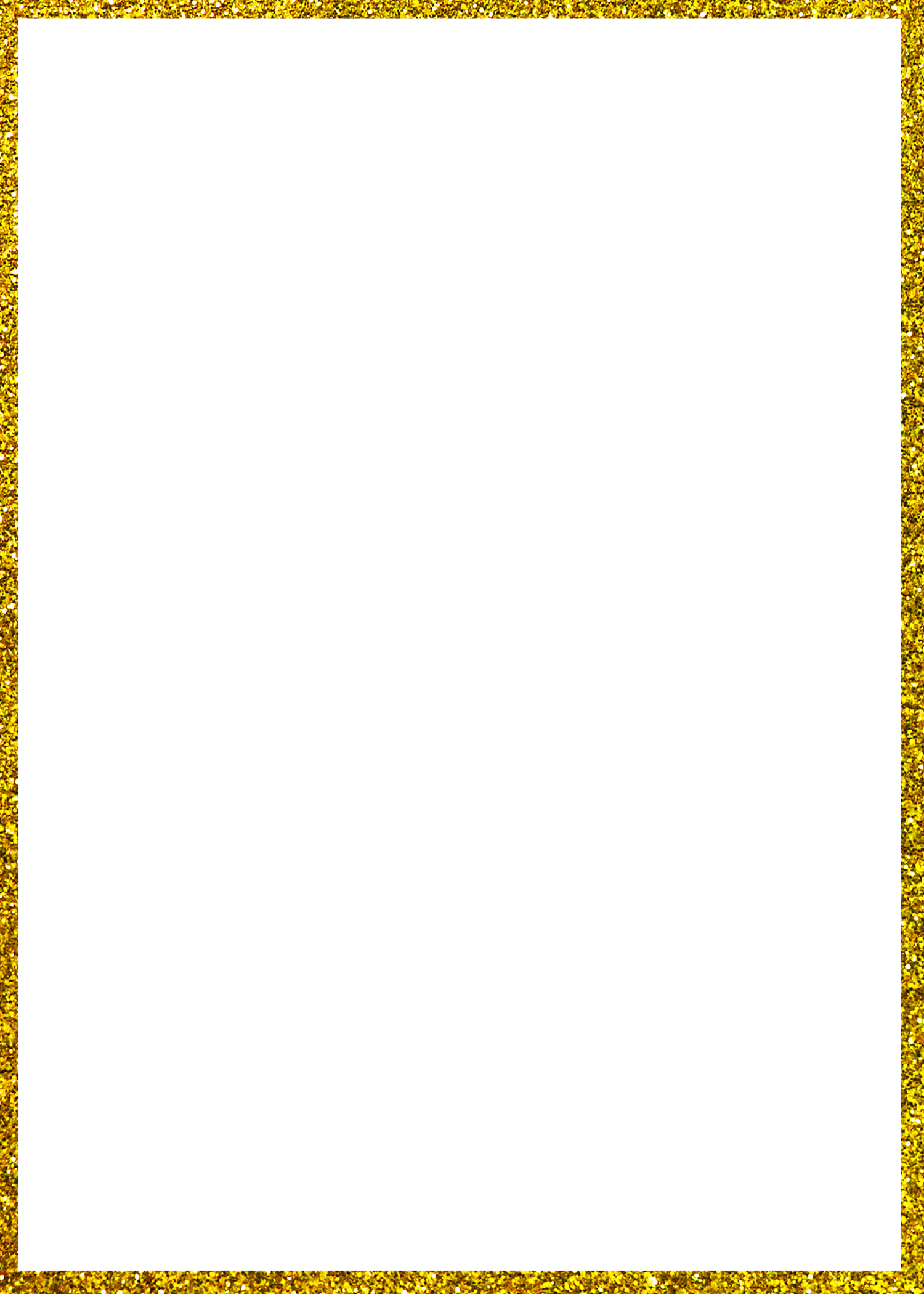 Hd pbl border rectangle. Frame clipart gold glitter