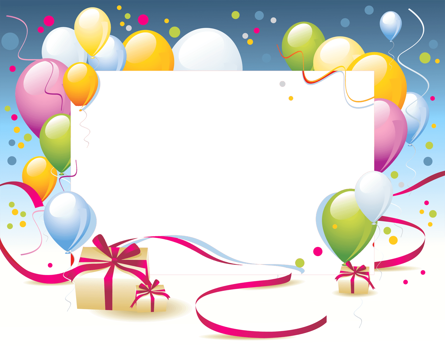 Birthday images png. Happy card template transparent