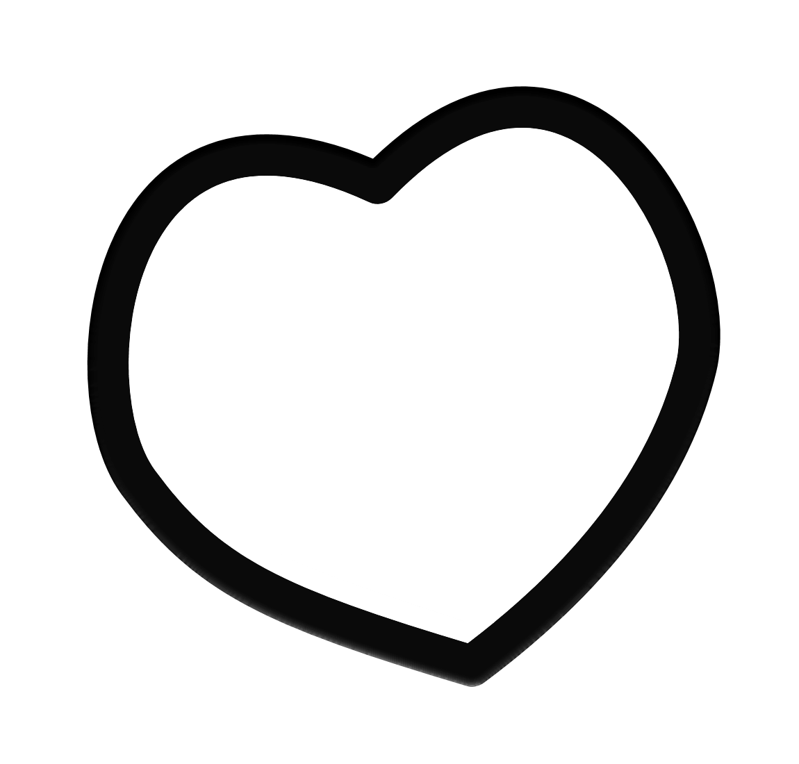 Heart frame clip art. White clipart love