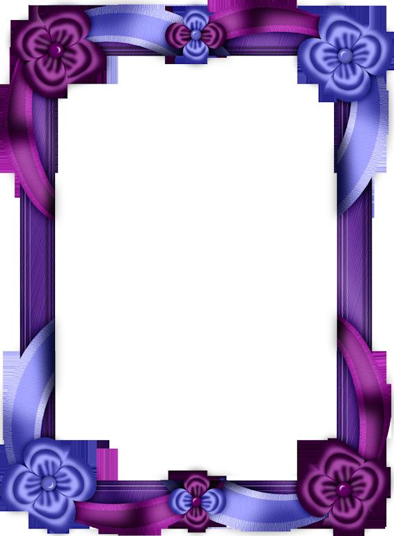 Clipart frames lavender. Purple and blue transparent