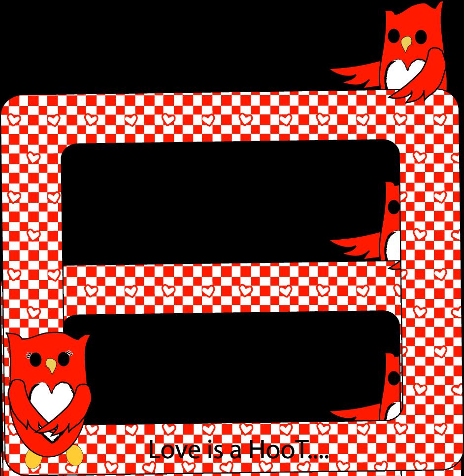 Free printable digital scrapbook. Frames clipart owl