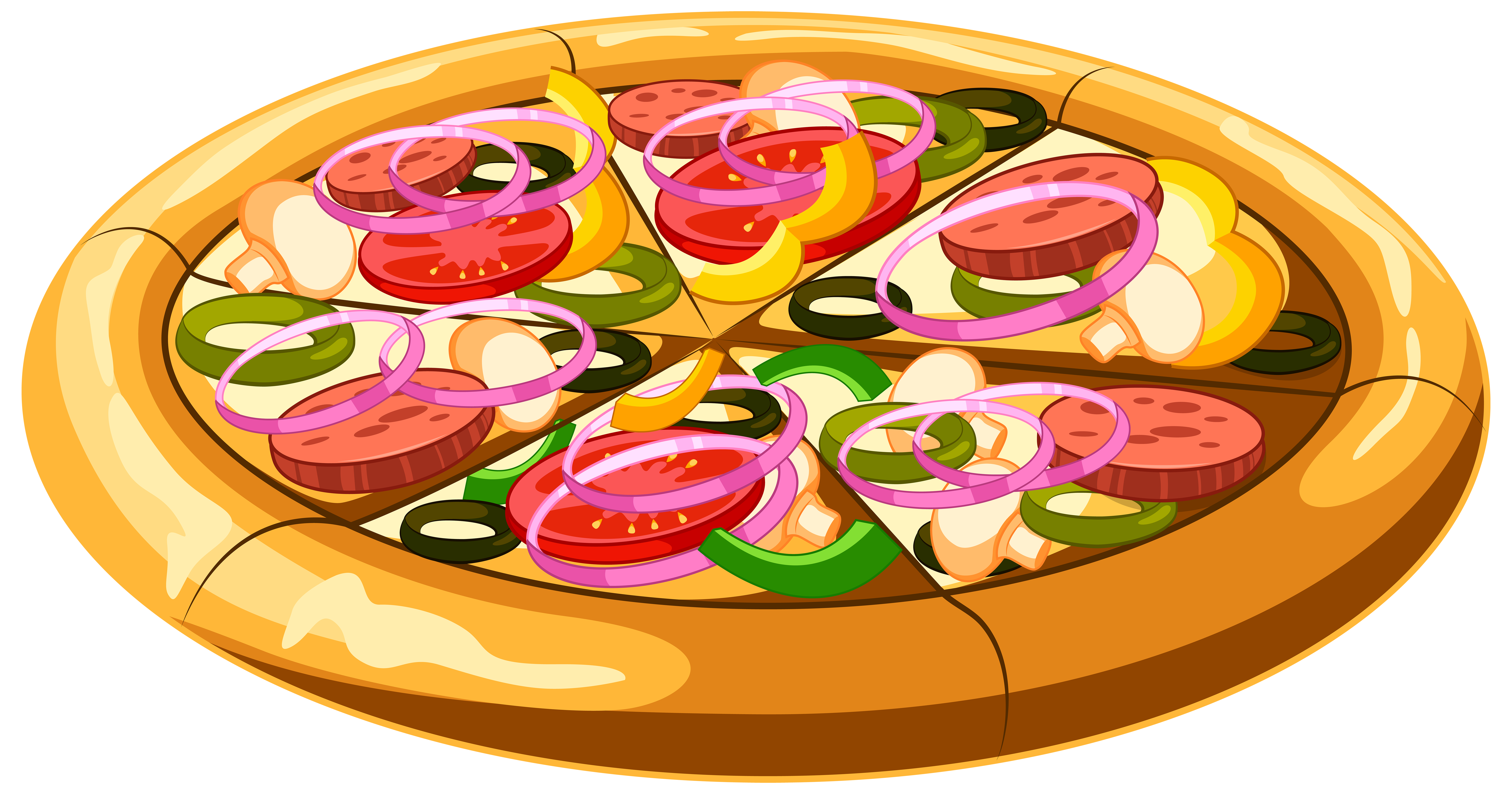 Png clip art image. Pizza clipart halloween