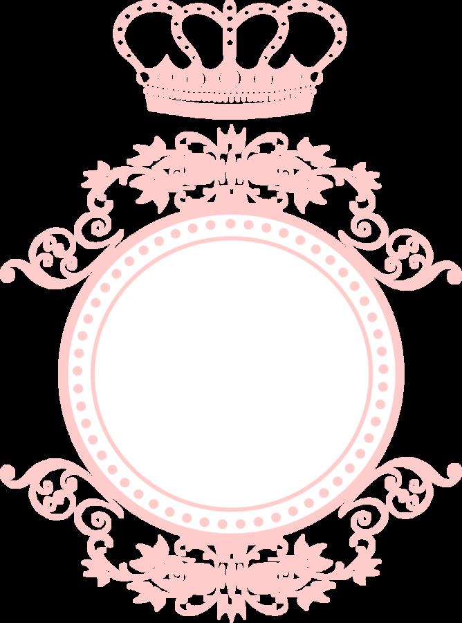 Itens para decorar arabesco. Clipart frames princess