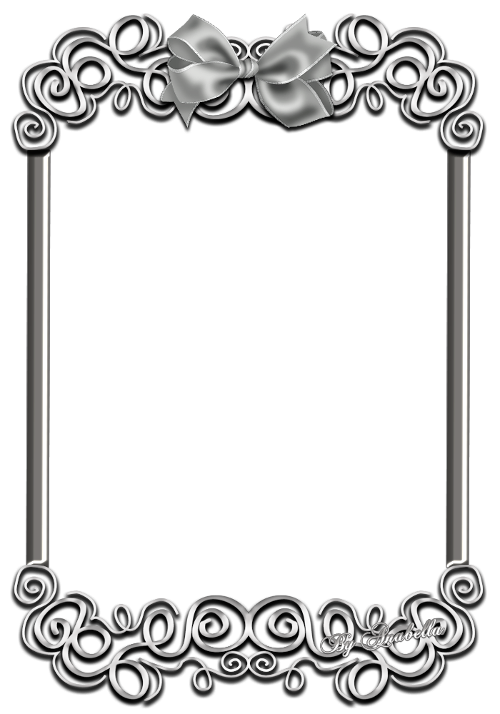 Frames clipart silver.  png pinterest certificate