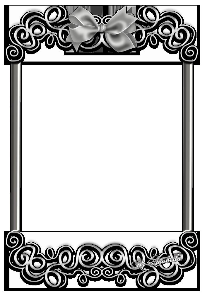 clipart frames silver