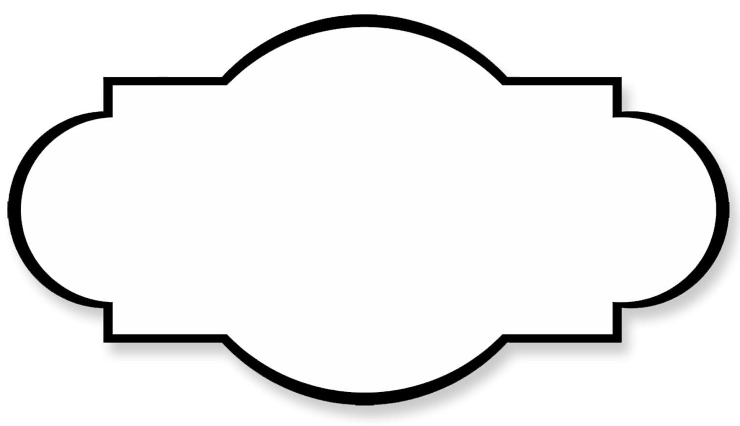 shared simple frames. Pencil clipart label