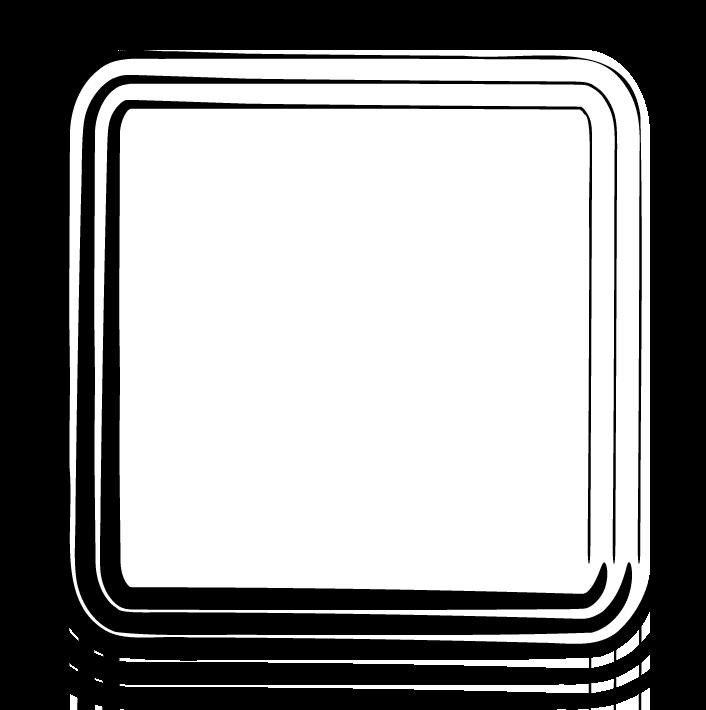 frame clipart square