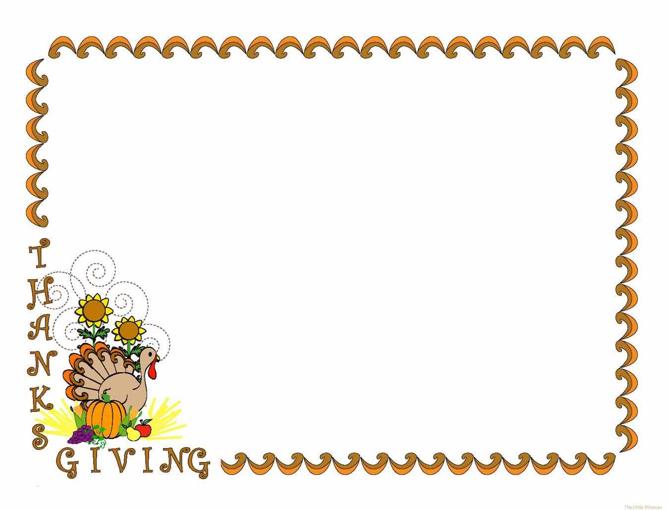 Clip art turkey happy. Clipart frames thanksgiving