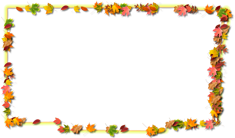Broward fancy frame style. Thanksgiving border png