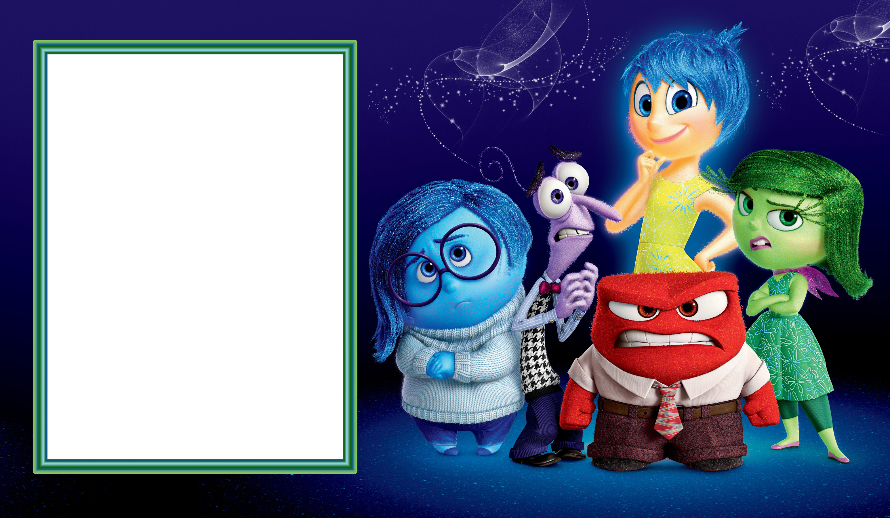Inside out png photo. Clipart frames toy