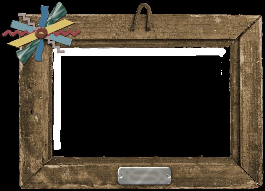 Old wood frame decoration. Clipart frames tree