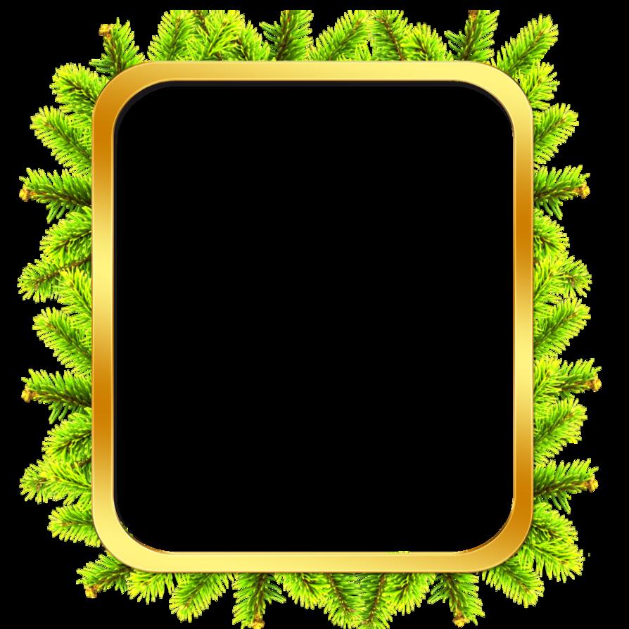 Clipart frames tree. Frame x mas png