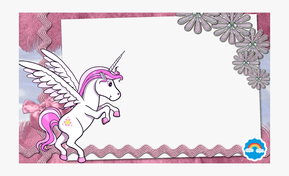 Clipart unicorn frame. Pony free cliparts on