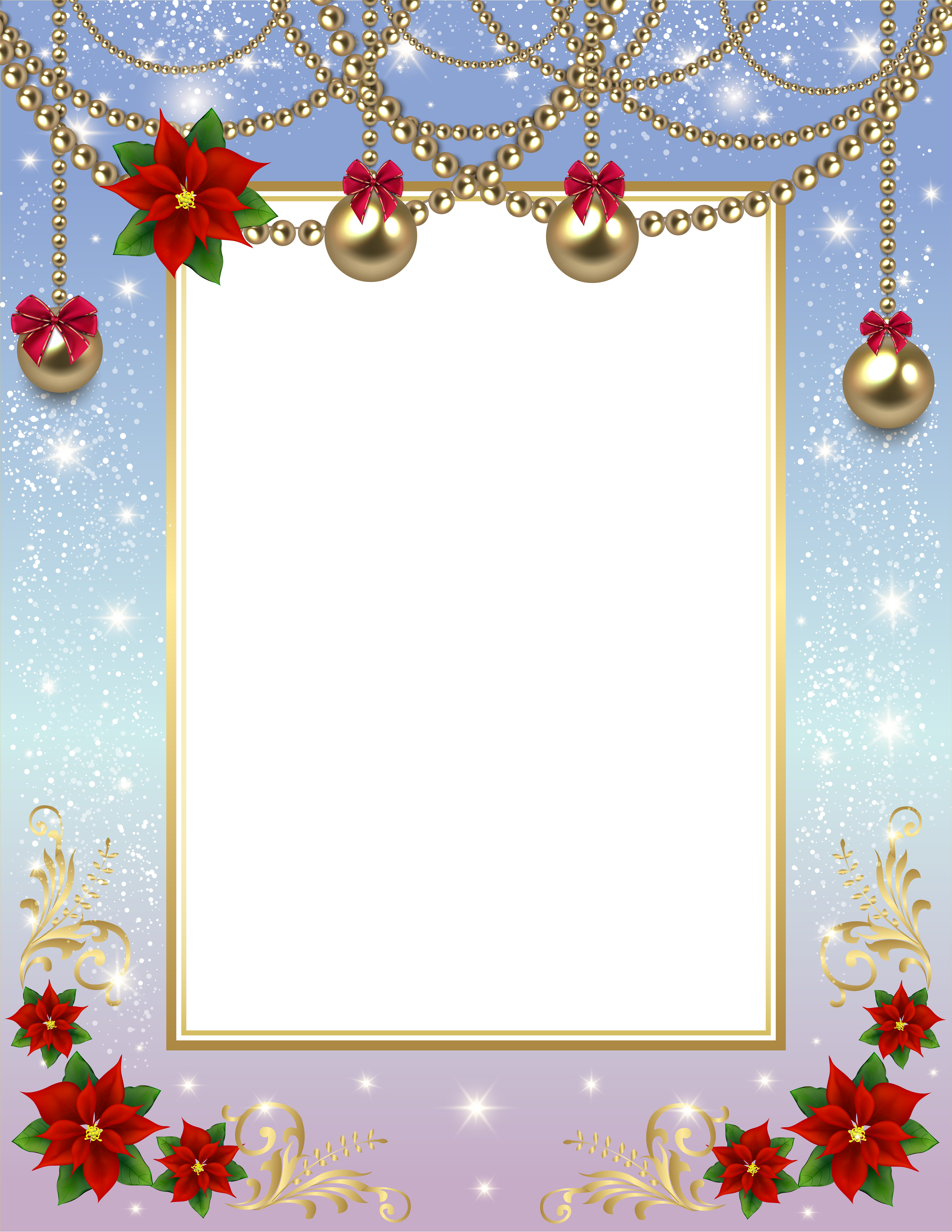 Clipart winter frame. Christmas transparent png photo