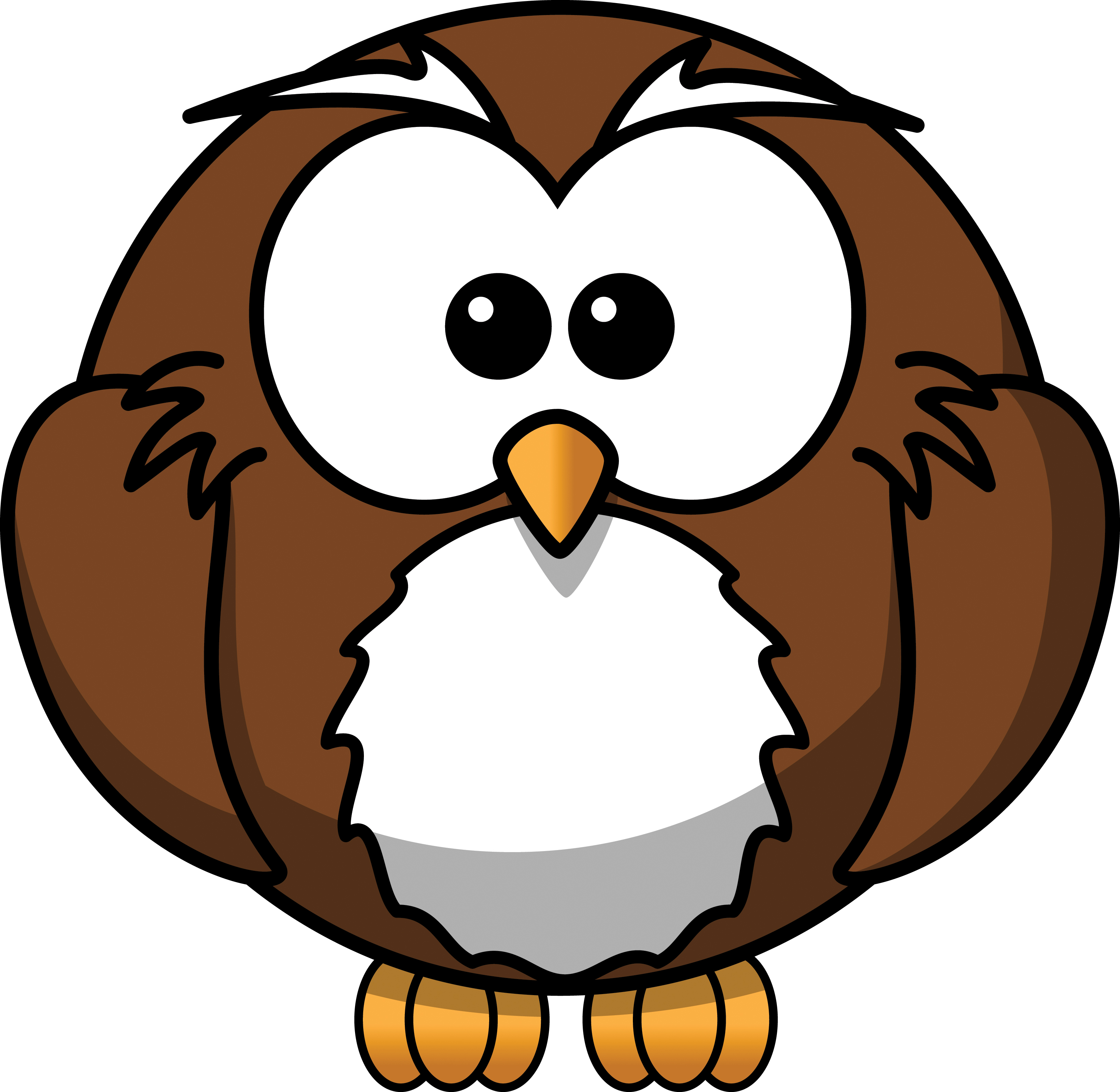 3 clipart owl.  free images clipartlook
