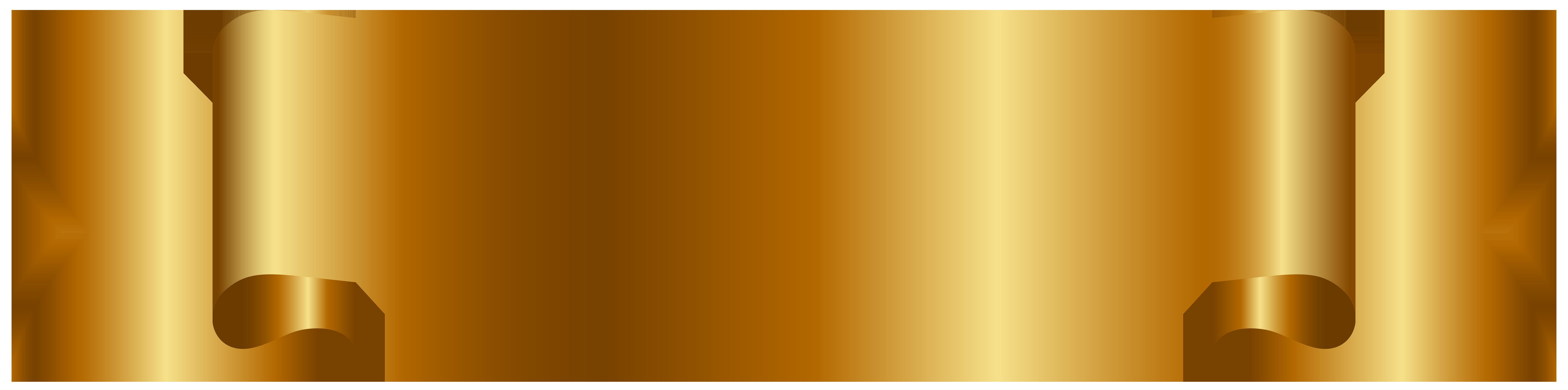 Golden png clip art. Clipart free banner