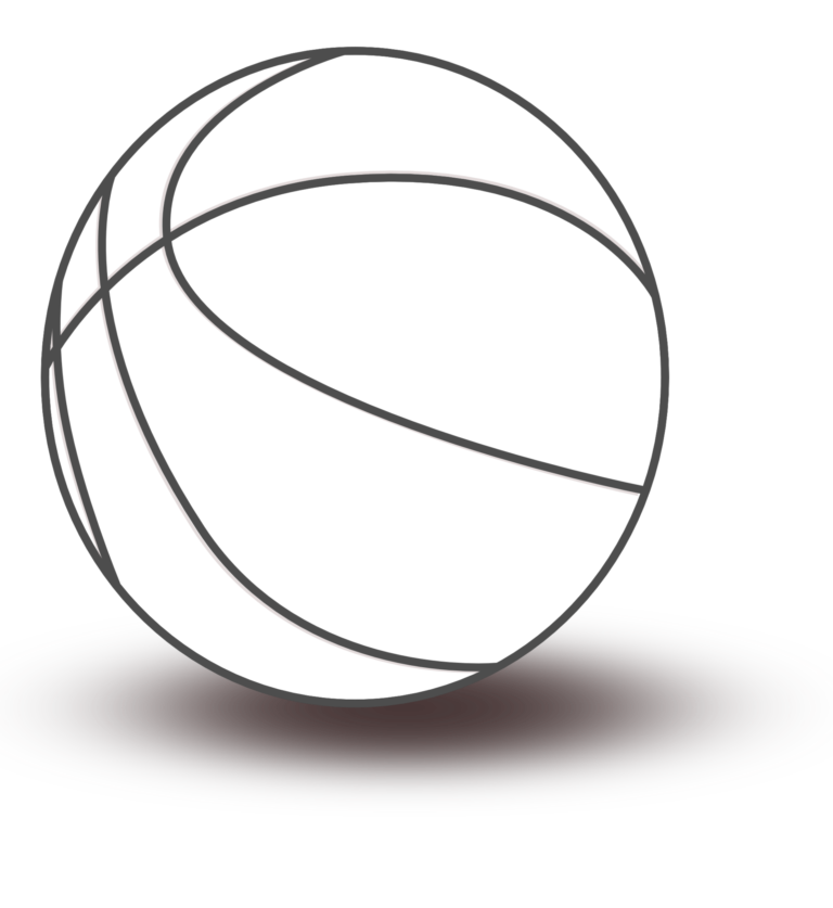 Clipart free basketball. Black and white pictures